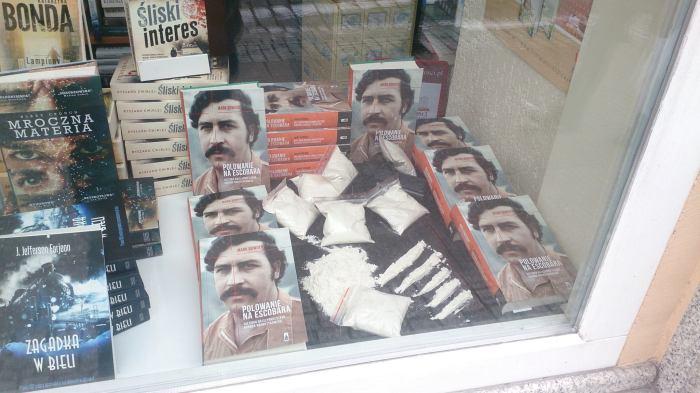 Witryna sławy, czyli co Escobar robi wPoznaniu