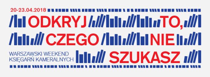Warszawski Weekend Księgarń Kameralnych2018