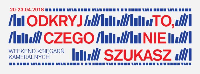 Weekend Księgarń Kameralnych2018