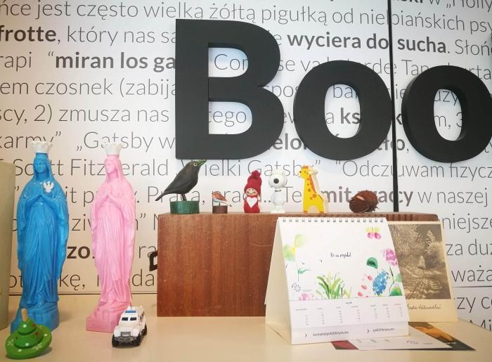 Bookowski w Zamku. Księgarnia, która wbrew patronowi dobrze sięprowadzi.